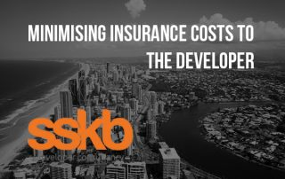 Minimising insurance costs to the developer