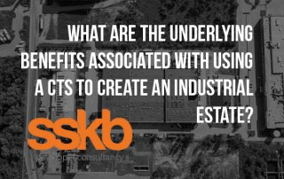What are the underlying benefits associated with using a CTS to create an undistial estate