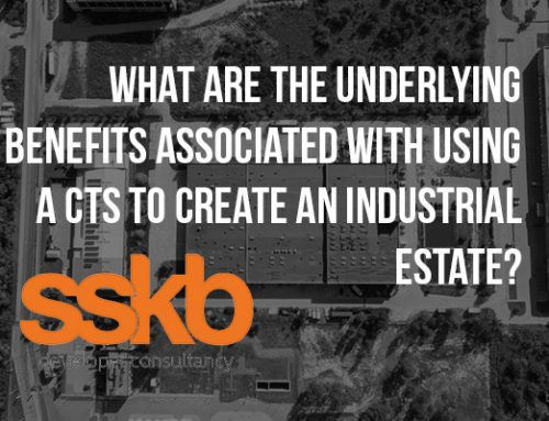 What are the underlying benefits associated with Strata Titling an Industrial Estate?