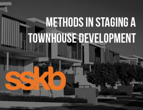 Methods in Staging a Townhouse Development