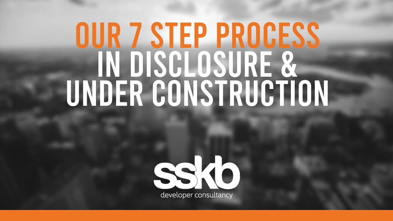 Step 3 - In disclosure and under construction