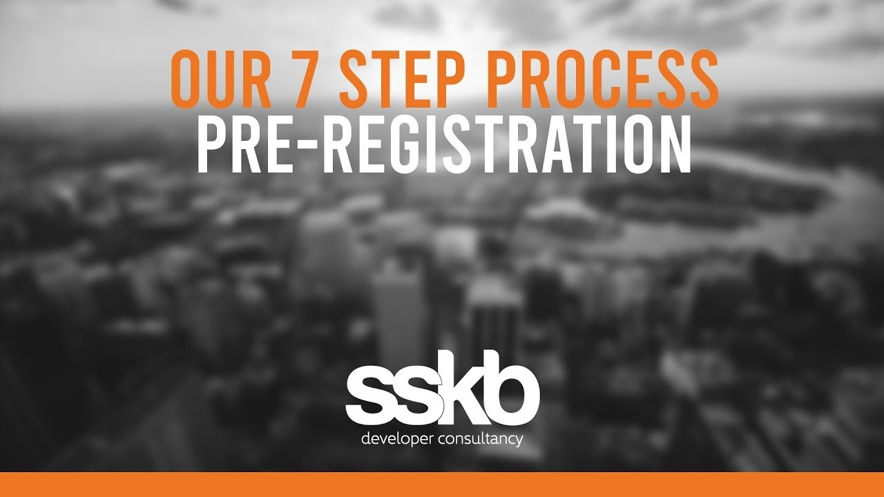 Step 4 – pre-registration