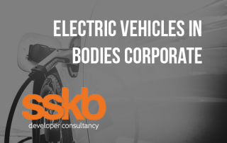 Electric vehicles in Bodies Corporate